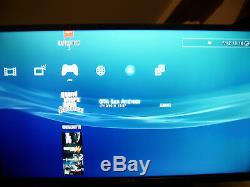 Playstation 3 500 GB Black Ultraslim Very Good Condition 22 + Games