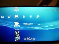 Playstation 3 500 GB Black Ultraslim Very Good Condition 22 + Games