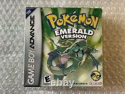 Pokemon Emerald Version / Game Boy Advance / Complete Tres Good State USA