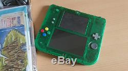 Pokemon Green Console Nintendo 2ds Limited Edition Pack Very Good Condition