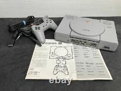 Ps1 Console Scph-5552 C Pal Very Good Condition