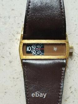 Rare Lip Baschmakoff Vintage Jump Hour Watch In Very Good Condition