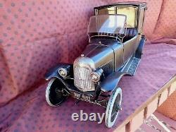 Rare Taxi B2 Tole Toy Andre Citroen Very Good State Complete Cij Jep Cr Jrd