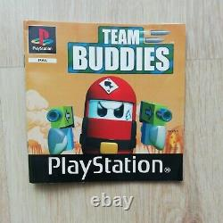 Rare! Team Buddies Ps1 Complete Version Fr Very Good Condition