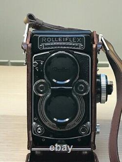 Rolleiflex 3.5f 1960-1965, / Planar Very Good Condition With Original Rollei Box