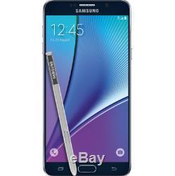 Samsung Galaxy Note5 N920a / Black / Very Good Condition (unlocked) 32gb