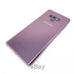 Samsung Galaxy Note9 Purple 128gb Unlocked Gsm Smartphone Very Good Condition