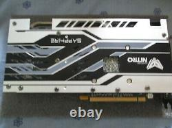 Sapphire Rx 580 Nitro+ 4 GB Graphics Card In Very Good Condition