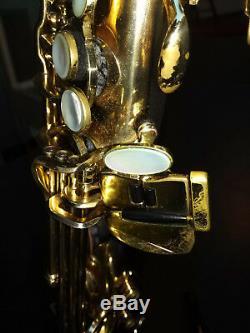Saxophone Selmer Serie II Super Action 80 Alto Very Good Condition