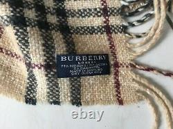 Scarf Angora And Cashmere Scarf Burberry Very Good Condition Like New 425