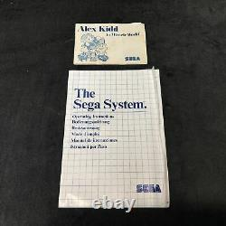 Sega Console Master System Pack Alex Kidd Pal Very Good Condition