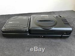 Sega Mega CD Megadrive Console + 2 Pal 1 Very Good