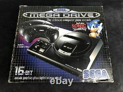 Sega Megadrive Sonic Console Pack 1 Pal Very Good