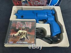 Sega Saturn The House Of The Dead + Virtua Gun Eur Very Good