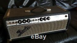 Sell fender Head Bassman 50 Vintage Silverface In Very Good Condition