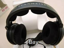 Sennheiser Hd 580 Precision Stereo Headset Stereo Audiophile In Very Good Condition