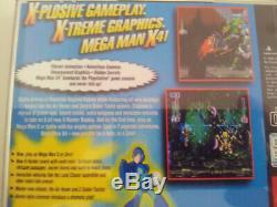 Set Of 3 Games Mega Man Pal Fr Mega Man X4, X5 And X6 On Ps1 Very Good State