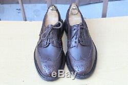 Shoe Leather Trickers Bourton Richelieu 9/43 Very Good Condition Men's Shoes