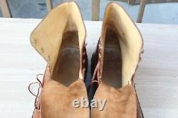 Shoes Boot Paraboot Leather 9 / 43 Very Good Condition Men's Shoes 498