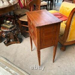 Small Convenient Chevet Table Chifoniere 19 Eme Century Tres Good State
