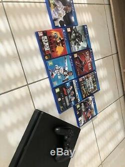 Sony Playstation 4 500gb Slim Console Ps4. Very Good State