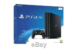 Sony Playstation 4 Pro 1tb + 3 Games Very Good State