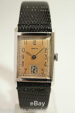 Steel Omega, Caliber R17, 40s, Very Good Condition