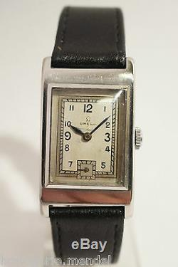Steel Omega, Caliber T17, Very Good Condition, 40s