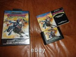 Sunsetriders Sega Megadrive Complete Very Good French State