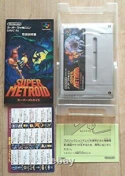 Super Metroid Nintendo Super Famicom Sfc Ntsc-j Jap Japan Very Good State