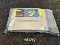 Super Nintendo Console Pack Super Mario World Fah Very Good Condition