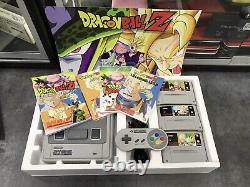 Super Nintendo Snes Pack Dragonball Z Console / Custom Pack / Very Good Condition