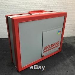 Super Nintendo Suitcase Eur Very Good