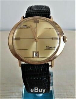 Superb Automatic Watch Fortis Skylark. 70s Very Good State