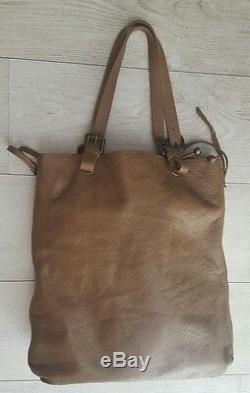 Superb Bag Gerard Way Darel Leather Python / Very Good Condition! Darel