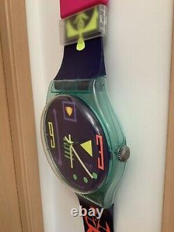 Swatch Maxi / Wall Watch / Very Rare / Occasion Very Good Condition /gg118
