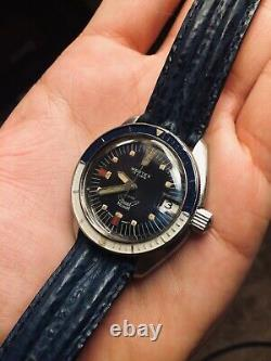Swiss Dive Watch Squale 30 Vintage Automatic Atmos Very Good Condition