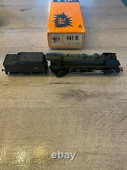 Tab Steam Locomotive 141 R 1330 Black Very Good State In Original Box