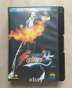 The King Of Fighters 95 Snk Neo Geo Aes Ntsc-j Jap Japan Very Good State