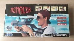 Threaten Gun Sega Megadrive Complete Very Good Functional State