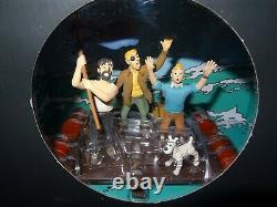 Tintin Diorama Figurine Scene Coke In Stock Moulinsart Very Good Etat