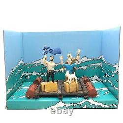 Tintin Figure Scene Tintin Coke Box In Stock Very Good Condition