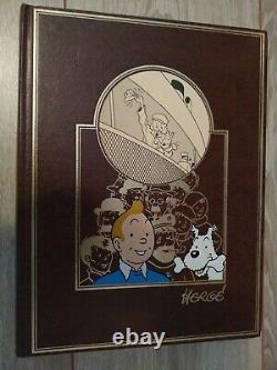 Tintin Full 13 Volumes Rombaldi, Very Good Condition