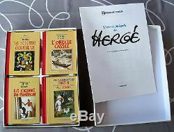 Tintin Herge Rombaldi 12 Albums Artwork Integrale On Herge Very Good Condition