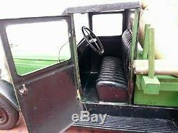Toy Andre Citroen Tole Truck C4 Iron Door Very Good Condition Complete Cij Jep Jrd