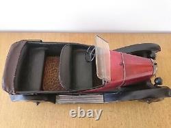 Toy Citroen Tole Torpedo B2 Complete Mechanics Tres Bon Etat Jep Jrd Cr Cij