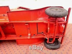 Toy Jrd Andre Citroen Tole Tank Truck Very Good State Of Origin Ij Jep Cr