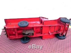 Toy Jrd Andre Citroen Tole Truck T23 Or T45 Tank Very Good Condition Ij Jep Cr