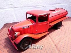 Toy Truck Tole Andre Citroen T23 Or T45 Tank Very Good Condition Ij Jep Jrd