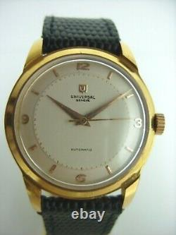 Universal Geneve Automatic Towards 1950 In Very Good State Old Vintage Watch